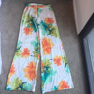 Wide leg cruise pants from Ella moss